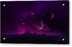 Amethyst Night Acrylic Print