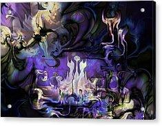 Amethyst Realm  Acrylic Print