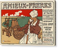 Amieux Freres Acrylic Print by Gianfranco Weiss