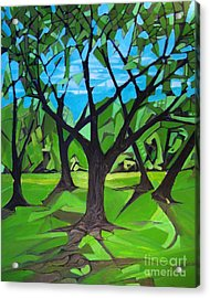 Amigos - Trees Botanicals Acrylic Print by Grace Liberator