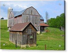 Amish Barn #2 - Woodward Pa Acrylic Print