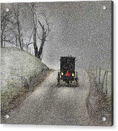 Amish Christmas Acrylic Print