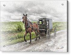 Amish Country Acrylic Print by Linda Blair