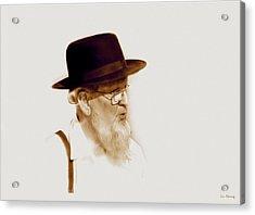 Amish Man  Acrylic Print