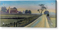 Amish Way Acrylic Print