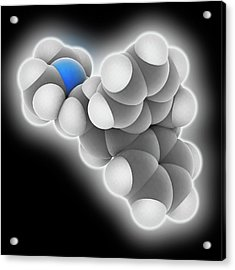 Amitriptyline Drug Molecule Acrylic Print by Laguna Design