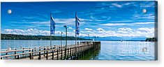 Ammersee - Lake In Bavaria Acrylic Print