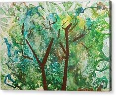 Among The Trees Acrylic Print
