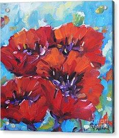 Amore By Prankearts Acrylic Print by Richard T Pranke