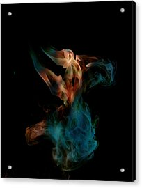 Amorphous Acrylic Print by Cecil Fuselier