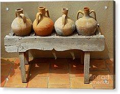 Amphoras  Acrylic Print by Elena Elisseeva