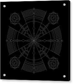 Amplitude Inverse Acrylic Print