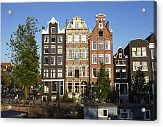 Amsterdam - Old Houses At The Herengracht Acrylic Print