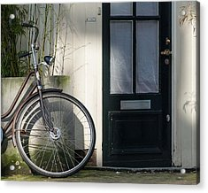 Amsterdam Bicycle #1 Acrylic Print