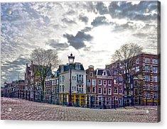 Amsterdam Bridges Acrylic Print