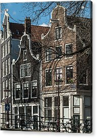 Amsterdam Canal Houses #1 Acrylic Print
