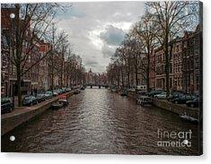 Amsterdam Canals Acrylic Print