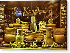 Amsterdam Cheese Shop Acrylic Print