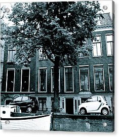 Amsterdam Electric Car Acrylic Print