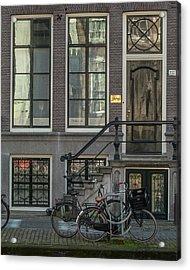 Amsterdam Facade #1 Acrylic Print