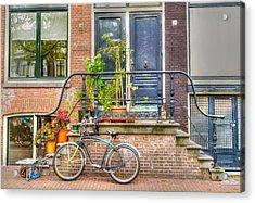 Amsterdam Facade Acrylic Print