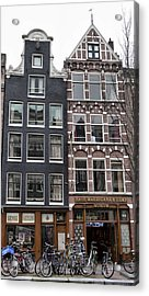 Amsterdam Hash Museum Acrylic Print by Mick Flynn