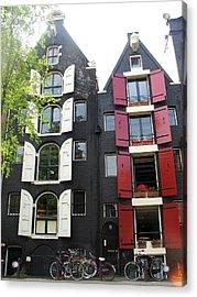 Amsterdam Homes Acrylic Print