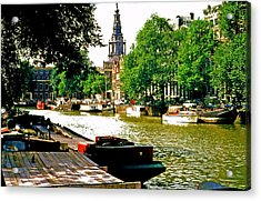 Acrylic Print featuring the photograph Amsterdam by Ira Shander