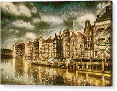 Amsterdam Acrylic Print by Jose Maqueda