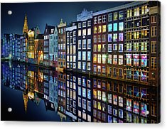 Amsterdam Mirror. Acrylic Print
