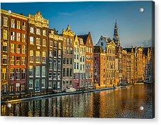 Amsterdam Acrylic Print by Neah Falco