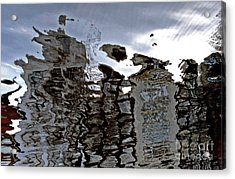 Acrylic Print featuring the photograph Amsterdam Reflections 2 by Andy Prendy