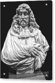 Amsterdam Rijksmuseum Classic Bust - 09 Acrylic Print by Gregory Dyer