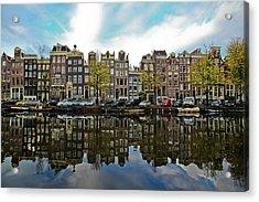 Amsterdam Acrylic Print by Ruy Barbosa Pinto