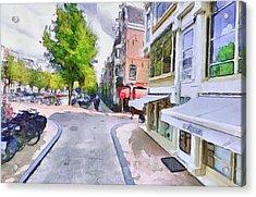 Amsterdam Streets 2 Acrylic Print