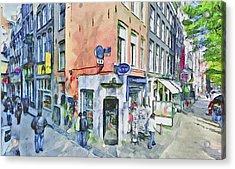 Amsterdam Streets 3 Acrylic Print