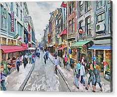 Amsterdam Streets 5 Acrylic Print
