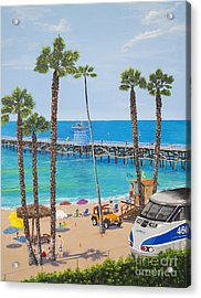 Perfect Beach Day Acrylic Print