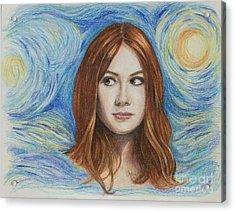 Amy Pond / Karen Gillan Acrylic Print