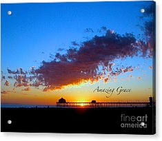Acrylic Print featuring the photograph Amzing Grace 7 by Margie Amberge