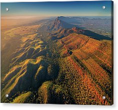 An Aerial View Of The Southern Flinders Acrylic Print by Southern Lightscapes-australia