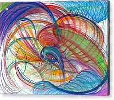 An Affair Of Energy Acrylic Print