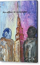 An Affair To Remember Acrylic Print
