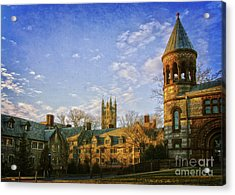 An Afternoon At Princeton Acrylic Print