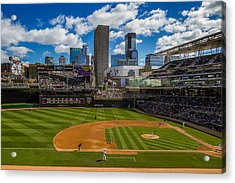 An Afternoon At Target Field Acrylic Print
