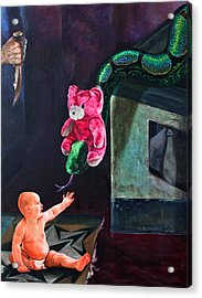 An Afternoon In Slitherville Acrylic Print