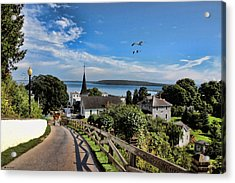 An Afternoon On Mackinac Acrylic Print by Tom Schmidt