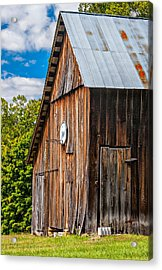 An American Barn Acrylic Print by Steve Harrington