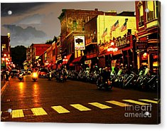 An American Dream Acrylic Print