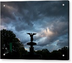 An Angel In The Clouds Acrylic Print